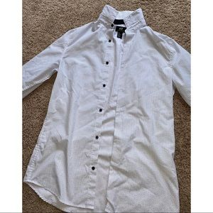 Men's slim fit size S button down